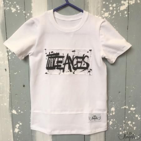 Tričko biele s maľovaným logom